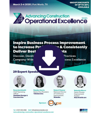 Full Event Guide - Advancing Construction Operational Excellence